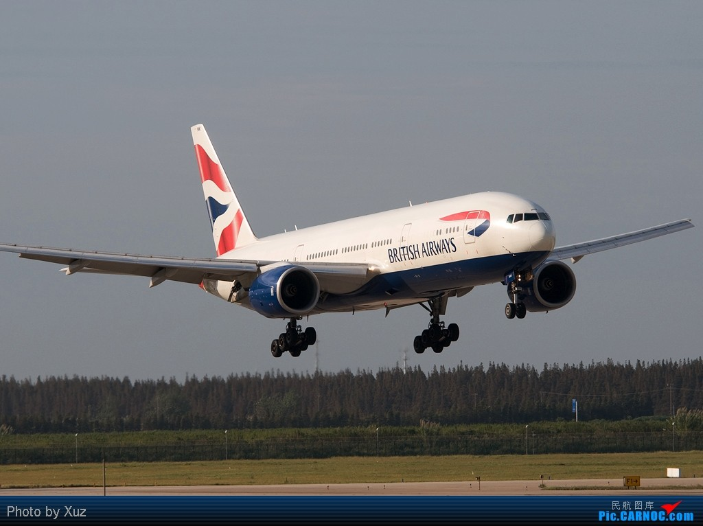 Re:[原创]PVG,PVG,还是PVG BOEING 777-200 G-YMMK 中国上海浦东机场