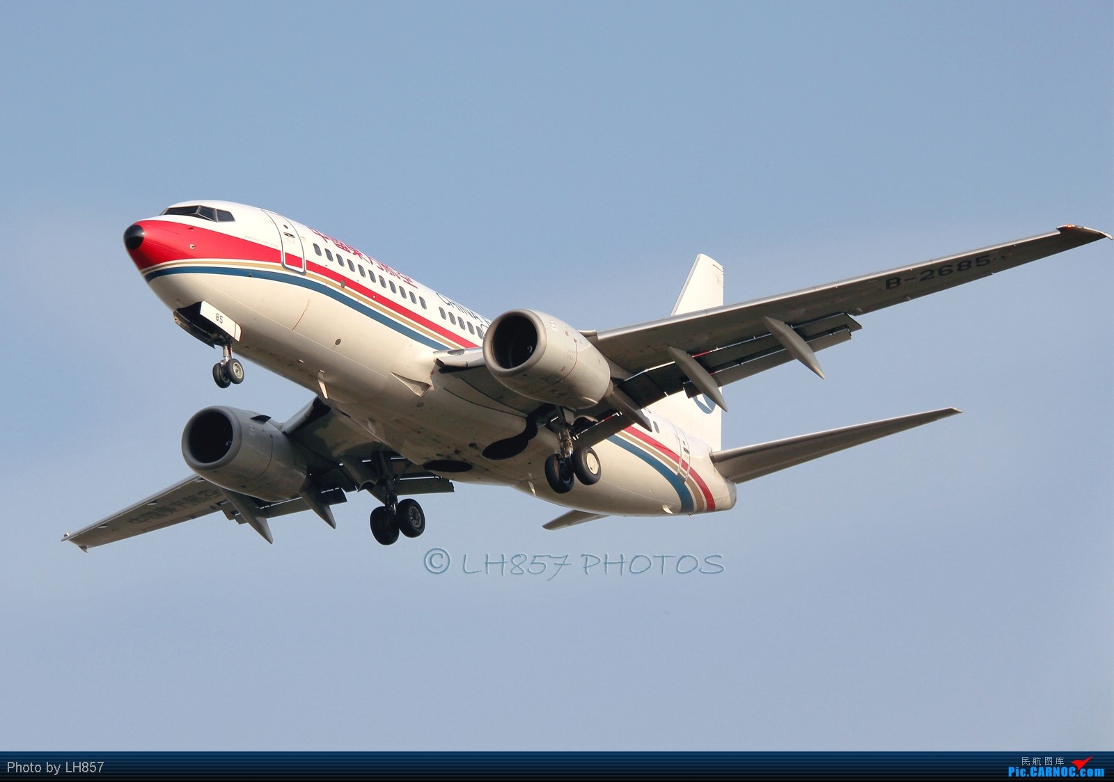 Re:[原创]好天气下蛋疼的石家庄总是有亮点 1600大图 BOEING 737-700 B-2685 中国石家庄正定机场