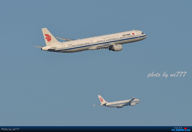 Re:[原创]换新镜头后第一帖!!!初探T3东跑神仙位!!各种外航!!各种给力的大坡度爬升! AIRBUS A321 B-6597 首都国际机场