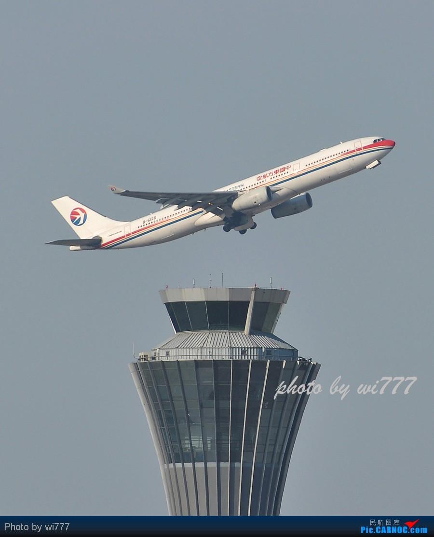 Re:[原创]换新镜头后第一帖!!!初探T3东跑神仙位!!各种外航!!各种给力的大坡度爬升! AIRBUS A330-300 B-6126 首都国际机场