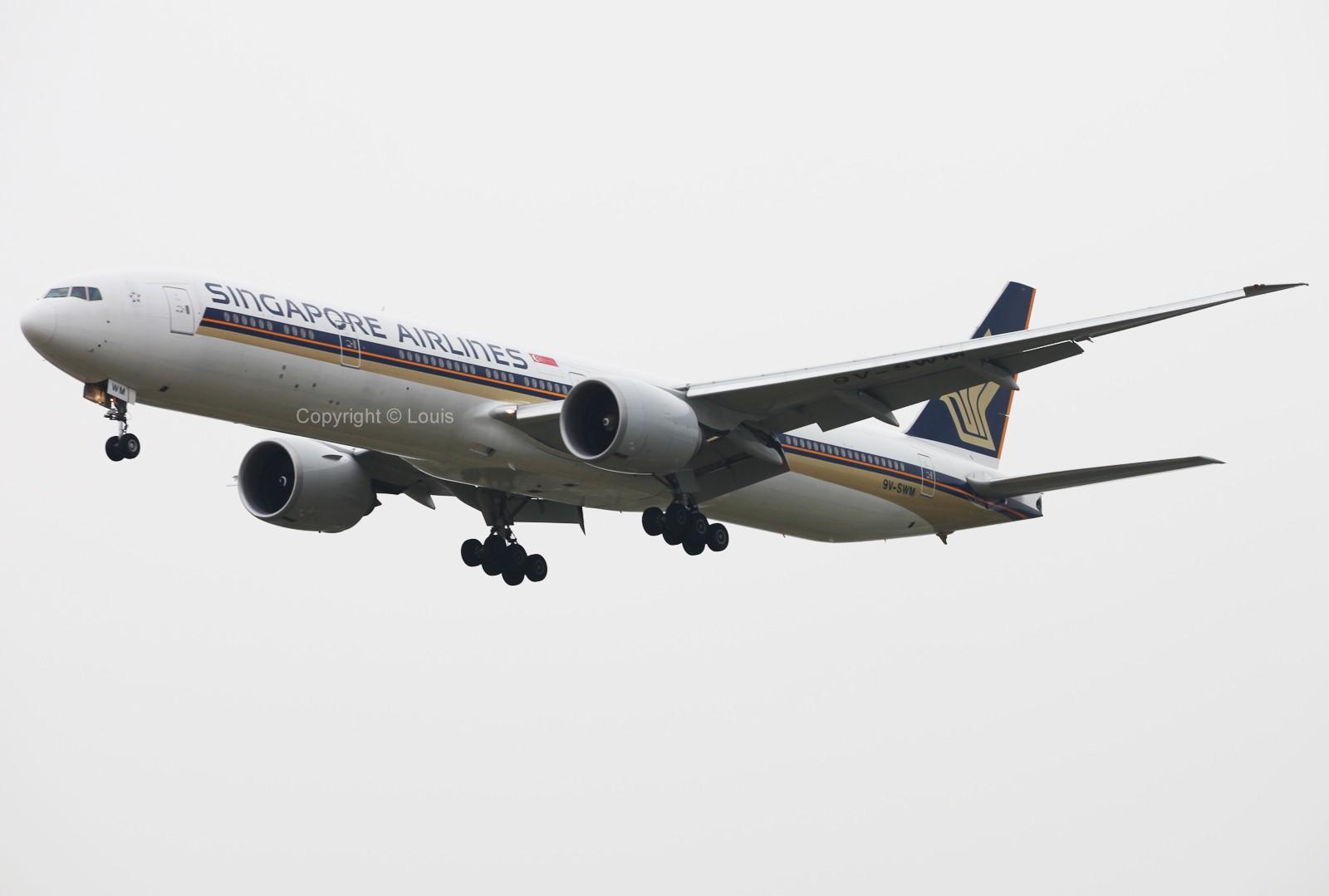 Re:[原创]好天儿啊~~~~~~~~~~~~~~~~~~~~~~~发两张图冒个泡儿 BOEING 777-300 9V-SWM 中国北京首都机场