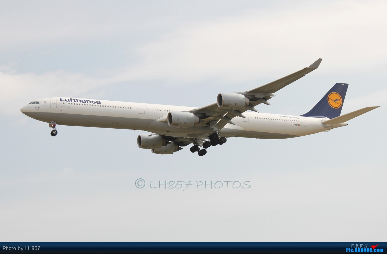 Re:[原创]再次光临PEK,八卦台各种给力和不给力,凉爽的T3大桥 AIRBUS A340-600 D-AIHN 中国北京首都机场