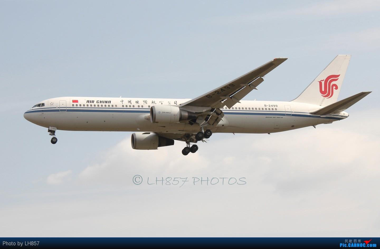Re:[原创]再次光临PEK,八卦台各种给力和不给力,凉爽的T3大桥 BOEING 767-300 B-2499 中国北京首都机场