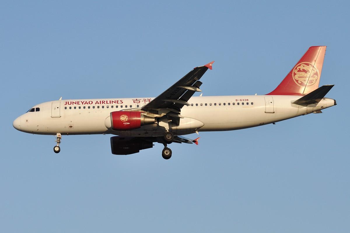 Re:[原创]入秋的虹桥36R黄昏 真的很美 AIRBUS A320-214 B-6338 中国上海虹桥机场