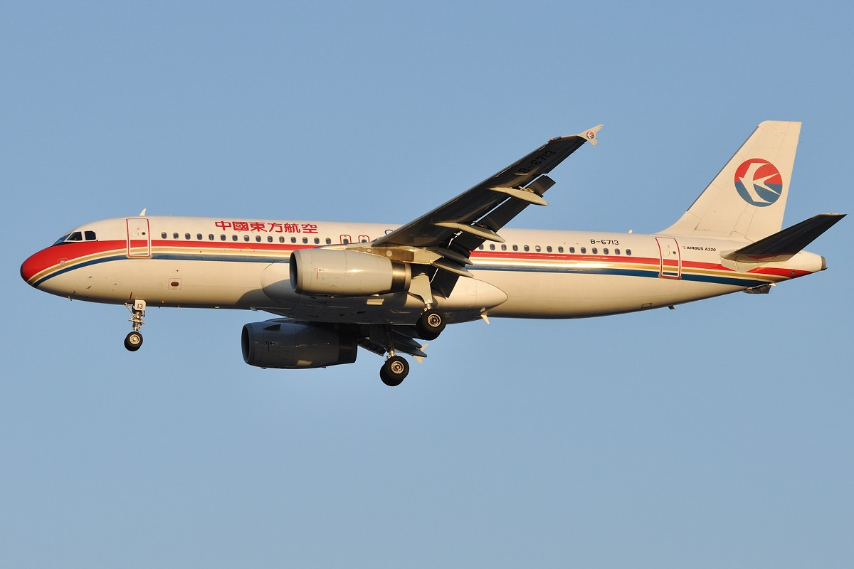 Re:[原创]入秋的虹桥36R黄昏 真的很美 AIRBUS A320-232 B-6713 中国上海虹桥机场