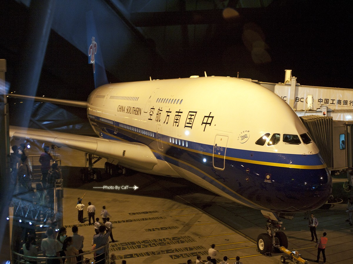 [CASG]爆RP换来的南航A380首航游记[附海航346初体验] AIRBUS A380 B-6136 中国广州白云机场