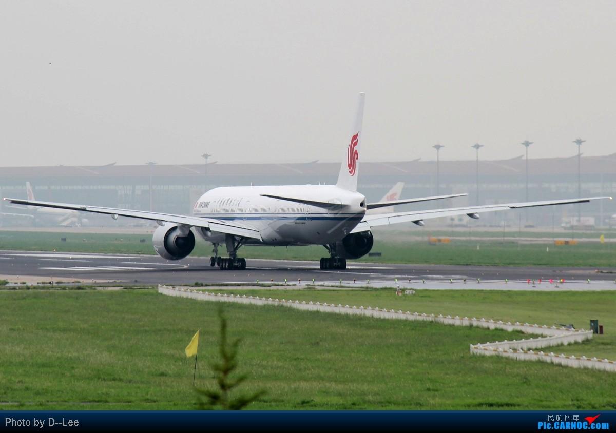 Re:[原创]【广州,你好】-暑假流窜作业的PEK国航77W首航图+一堆自认为有趣的CAN杂图 BOEING 777-300 B-2085 中国北京首都机场