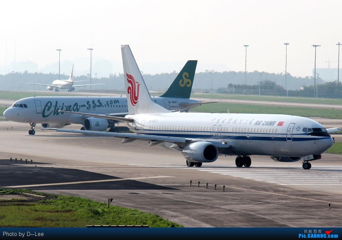 Re:[原创]【广州,你好】-暑假流窜作业的PEK国航77W首航图+一堆自认为有趣的CAN杂图 BOEING 737-800 B-5510 中国广州白云机场