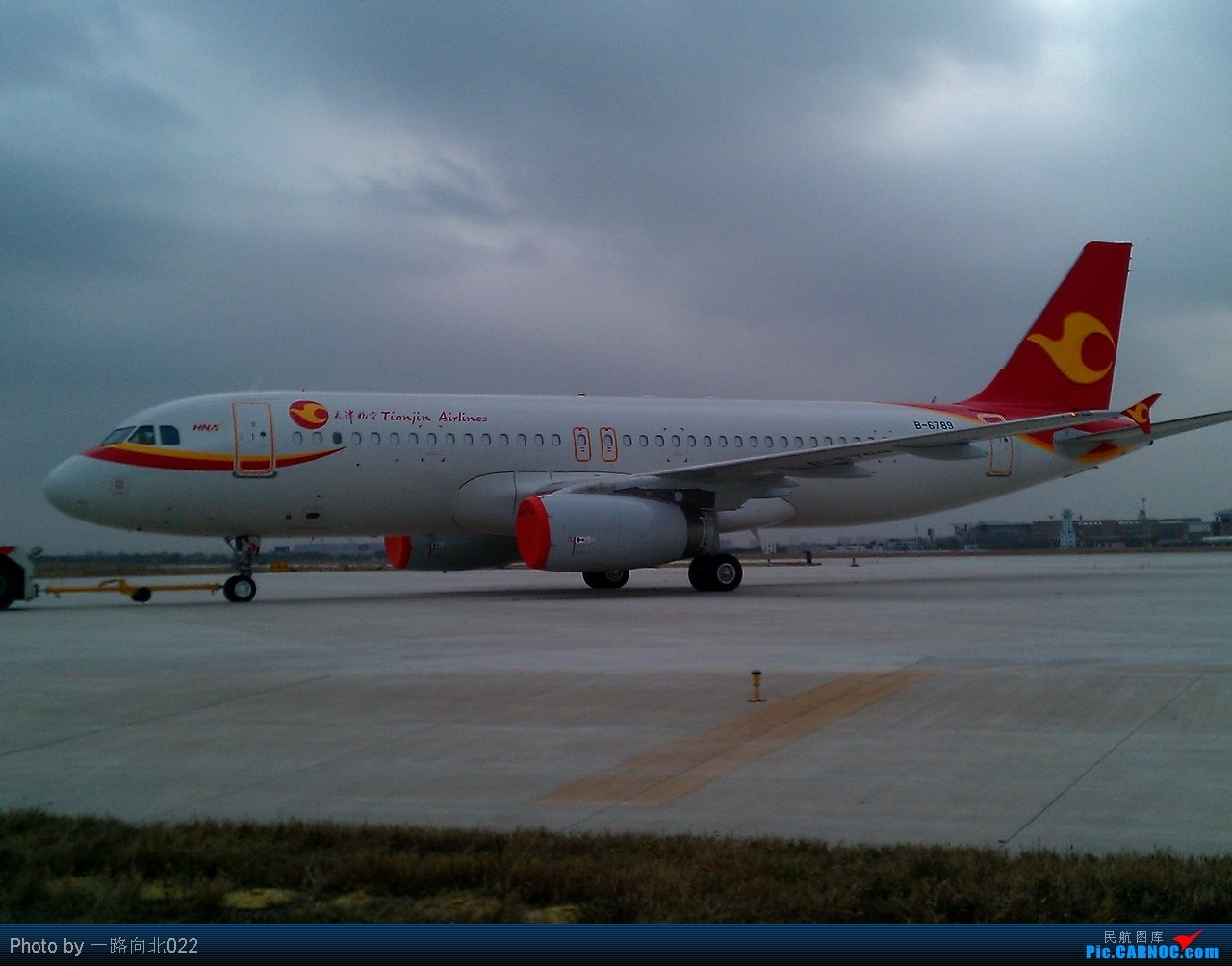 [原创]**TSN**TSN**天津航空320    中国天津滨海机场