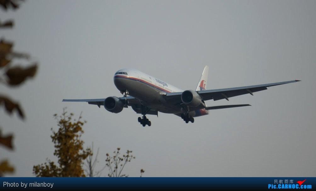 Re:[PEK]新人首发PEK拍机图。帝都云开雾散,美丽夕阳,八卦台+T3东桥,夜幕下偶遇南航380 BOEING 777-200 9M-MRE 中国北京首都机场