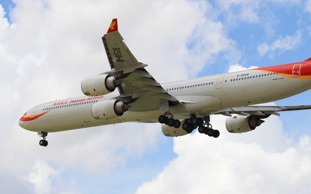 Re:[原创]【PVG】今天空客A340停产,这款外形优美但并不很成功的机型也进入了寿命的倒计时。 AIRBUS A340-600 B-6508 中国上海虹桥机场