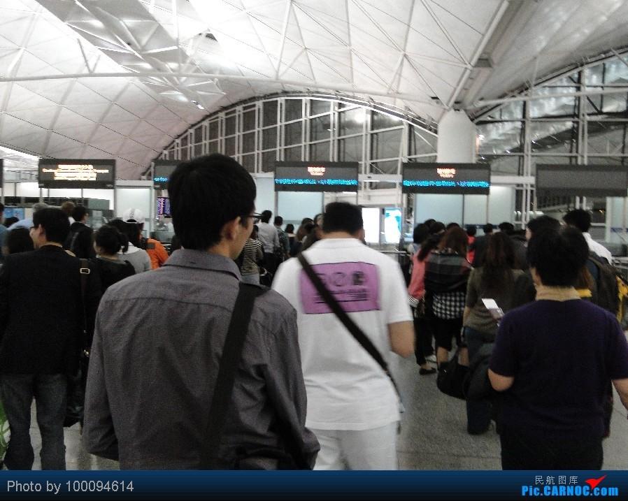 Re:[原创][100094614游记-26] HK Pride Paradise, KA786 HKG-CAN一天之内出入境, 悲催地拿了个DT...    中国香港赤鱲角国际机场