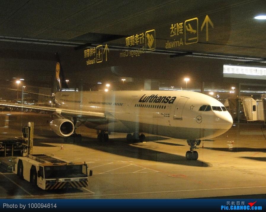 Re:[原创][100094614游记-26] HK Pride Paradise, KA786 HKG-CAN一天之内出入境, 悲催地拿了个DT... A340-300 D-AIGD 中国广州白云机场