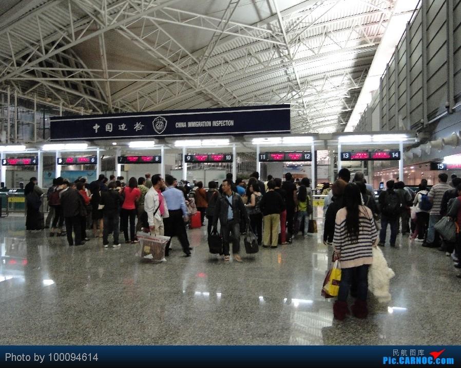 Re:[原创][100094614游记-26] HK Pride Paradise, KA786 HKG-CAN一天之内出入境, 悲催地拿了个DT...    中国广州白云机场