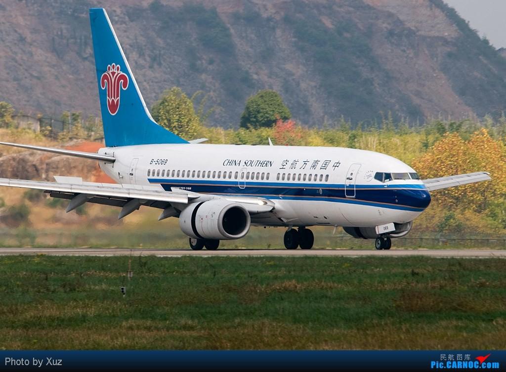 Re:[原创]贵阳机场好风景 BOEING 737-700 B-5069 中国贵阳龙洞堡机场