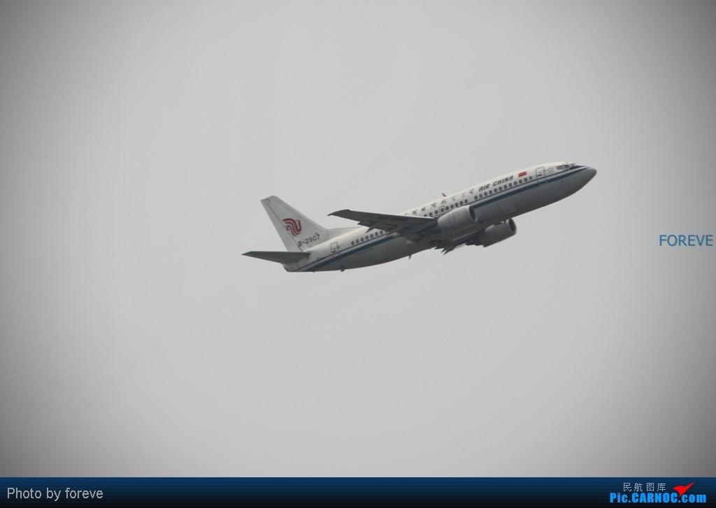 Re:[原创]发点藏货,6月去意大利时在首都机场侯机时拍的 BOEING 737-300 B-2907 中国北京首都机场