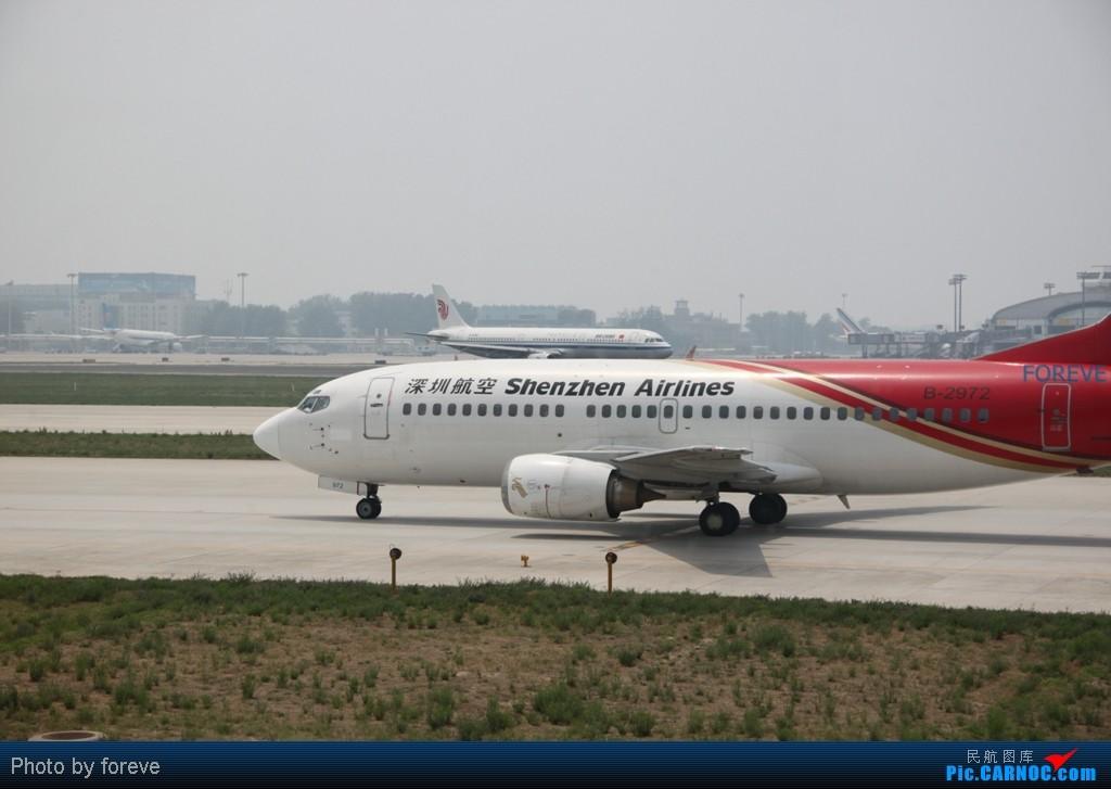 Re:[原创]发点藏货,6月去意大利时在首都机场侯机时拍的 BOEING 737-300 B-2972 中国北京首都机场