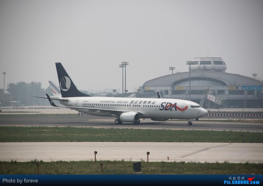 Re:[原创]发点藏货,6月去意大利时在首都机场侯机时拍的 BOEING 737-800 B-5513 中国北京首都机场