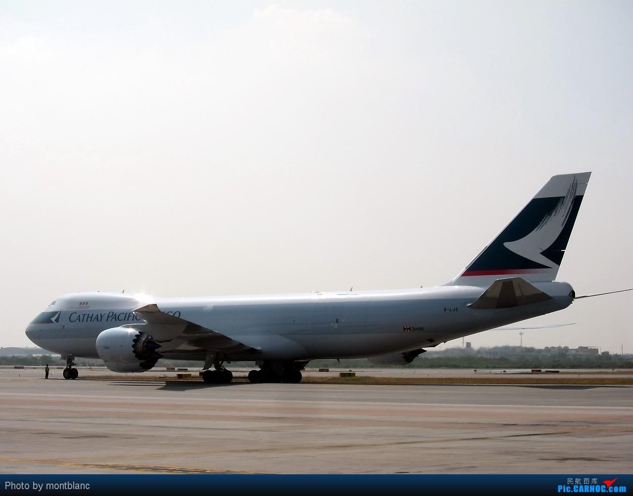 Re:[原创]国泰 748F BOEING 747-867F B-LJE 泰国曼谷(素万那普)机场