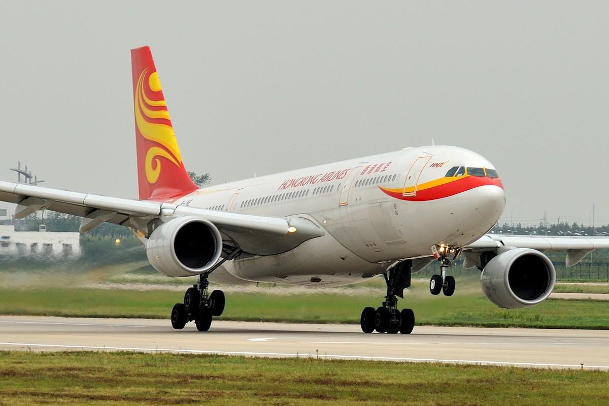 [原创]东风狠狠地吹! AIRBUS A330-223 B-LNE 中国上海浦东机场