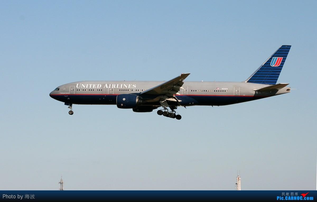 Re:迟到的首都拍机汇报----外航篇 BOEING 777-200 N224UA 中国北京首都机场