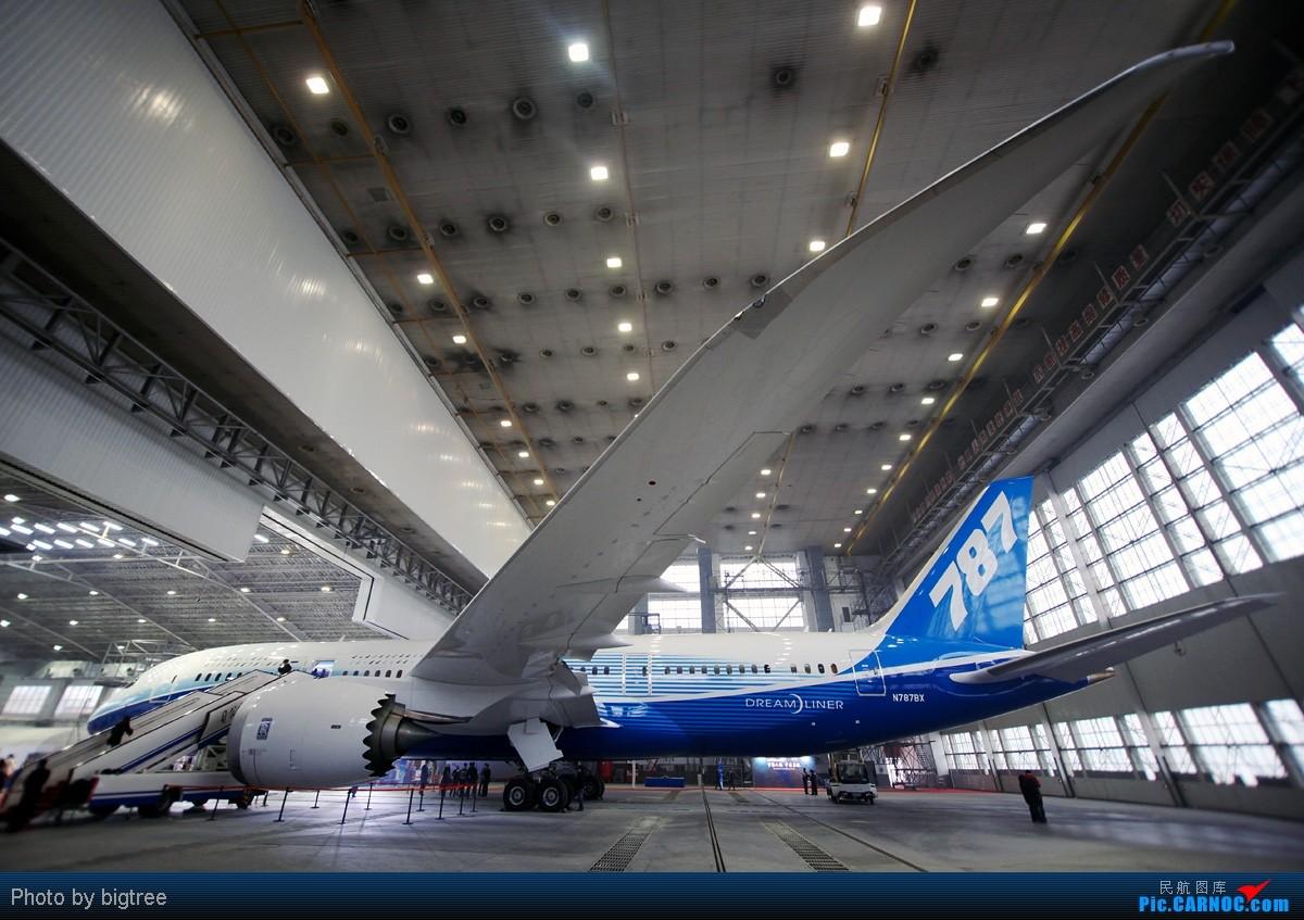 [原创]试图贴 BOEING 787 N787BX 中国北京首都机场