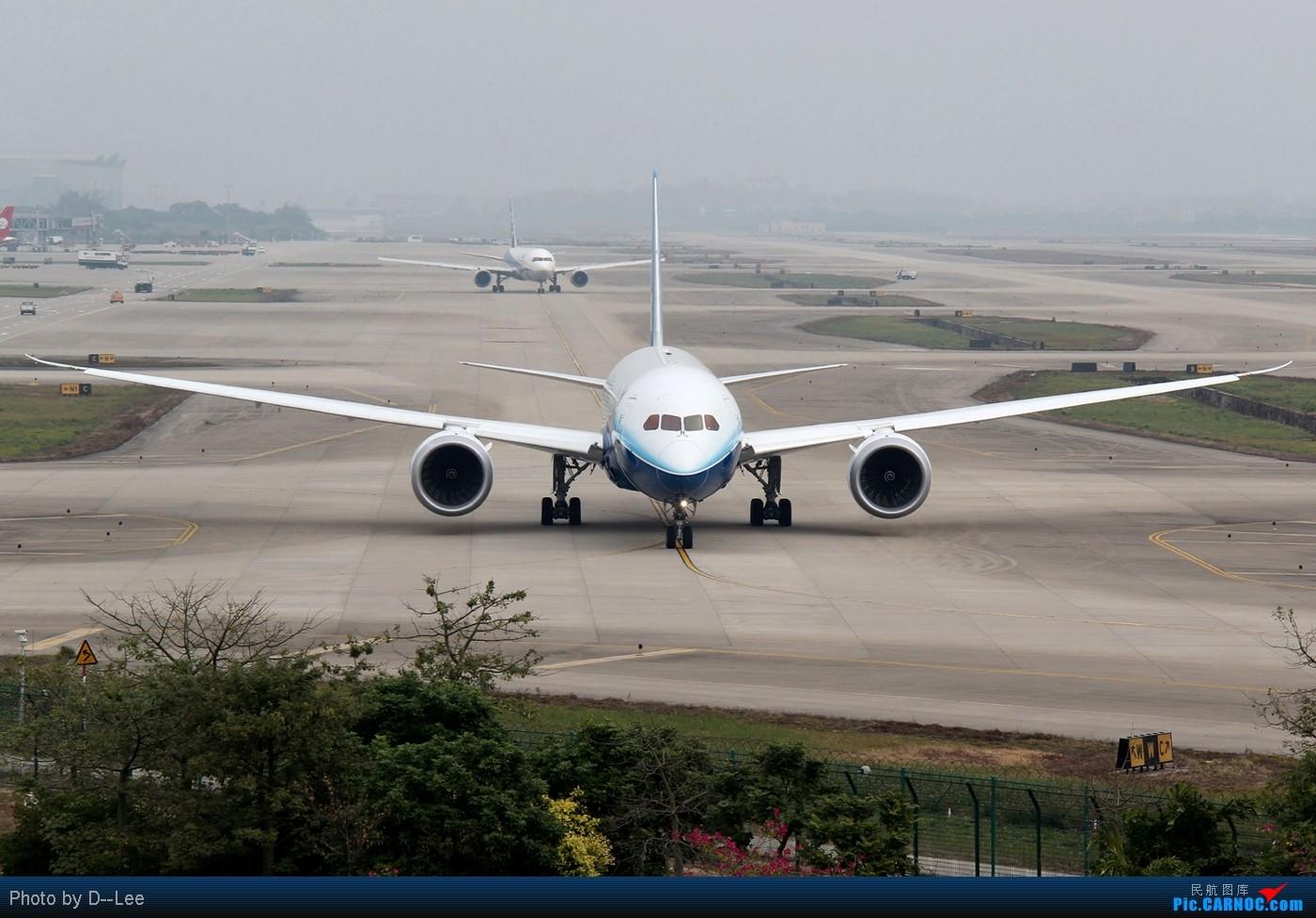 [原创]【787梦想之旅 广州站】-787,你出来飞的,终归要给拍的 BOEING 787-8 N787BX 中国广州白云机场