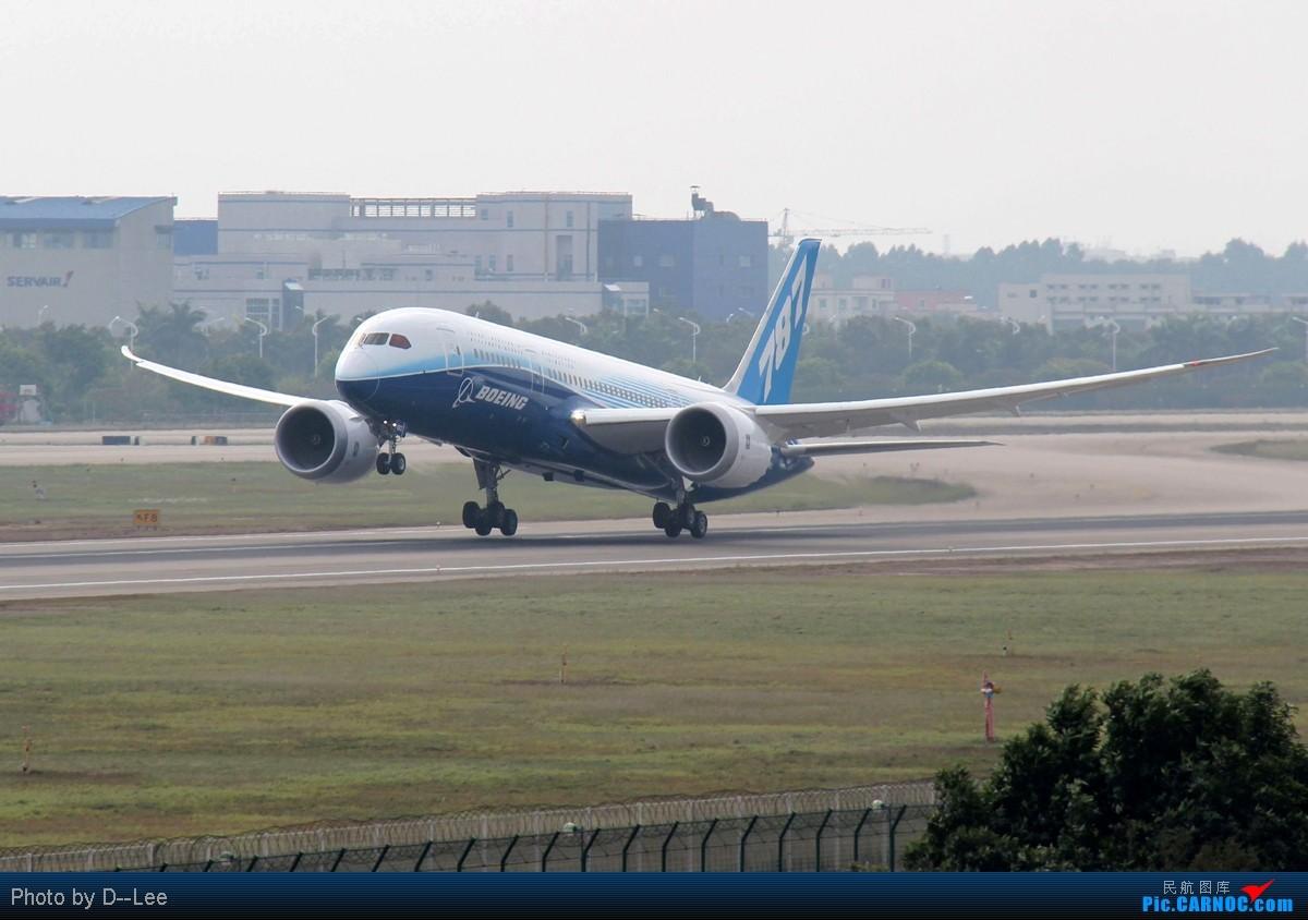 [原创]【787梦想之旅 广州站】-人品高压对跑道,梦想787再次起飞在广州,海口飞友们要给力啊 BOEING 787-8 N787BX 中国广州白云机场