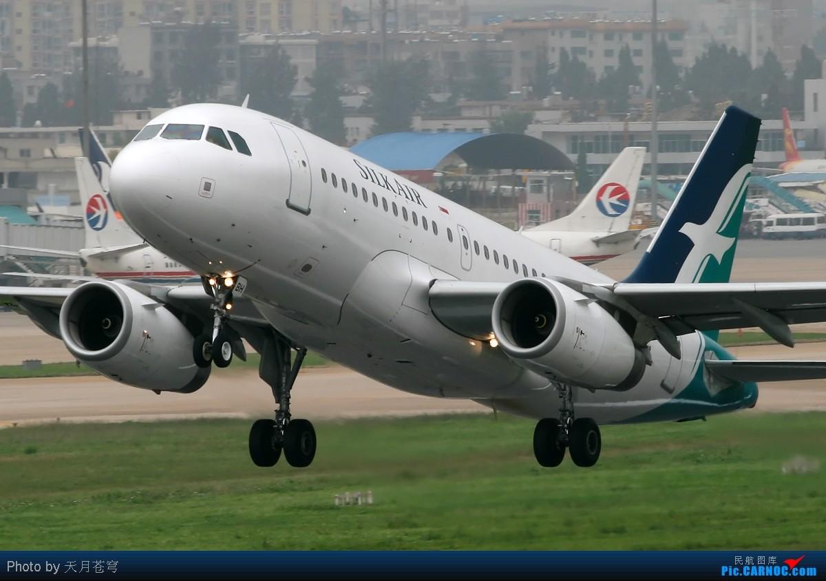 Re:[原创]【KMG】最近天气不给力,无法拍机,翻点杂图来发发 AIRBUS A319 9V-SBH 中国昆明巫家坝机场