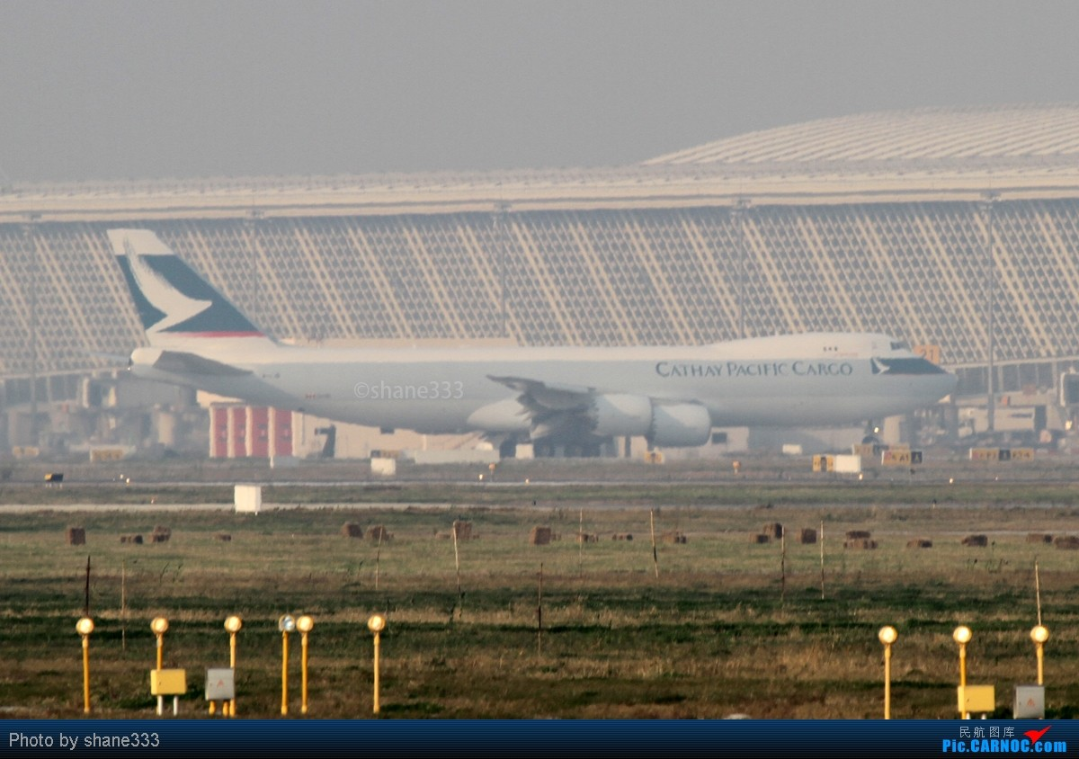 Re:【Shane拍机】大陆首发747-8F高清图!!就在今天的浦东机场!!卢森堡+国泰!怎一个给力了得? BOEING 747-8F B-LJB 中国上海浦东机场