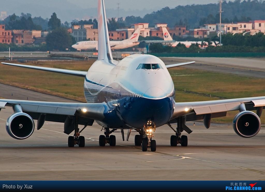 [原创]继续梦想,747蓝鲸.广州 BOEING 747-400 B-18210 中国广州白云机场