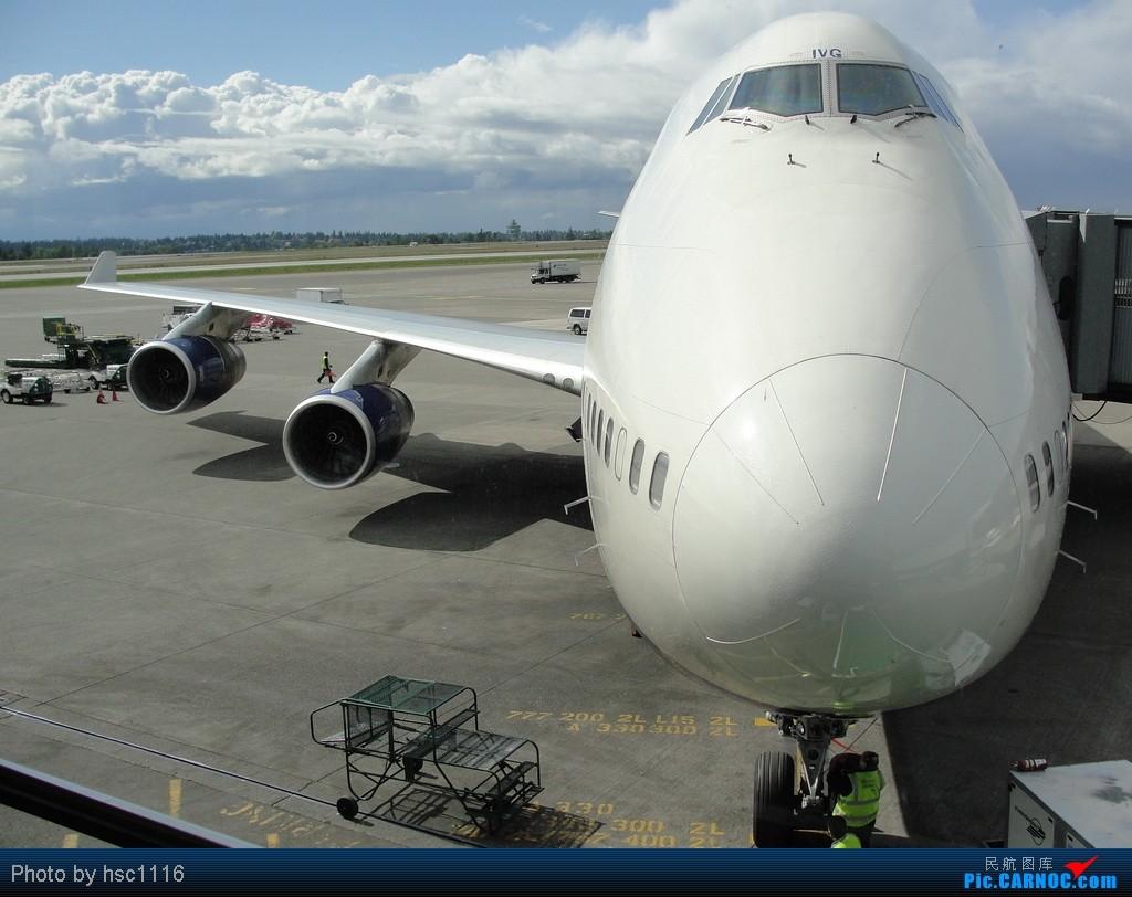 Re:[原创]5月份的回国,冷饭必须炒了。KMSP-KSEA-ZBAA-ZHHH. BOEING 747-400  美国西雅图机场