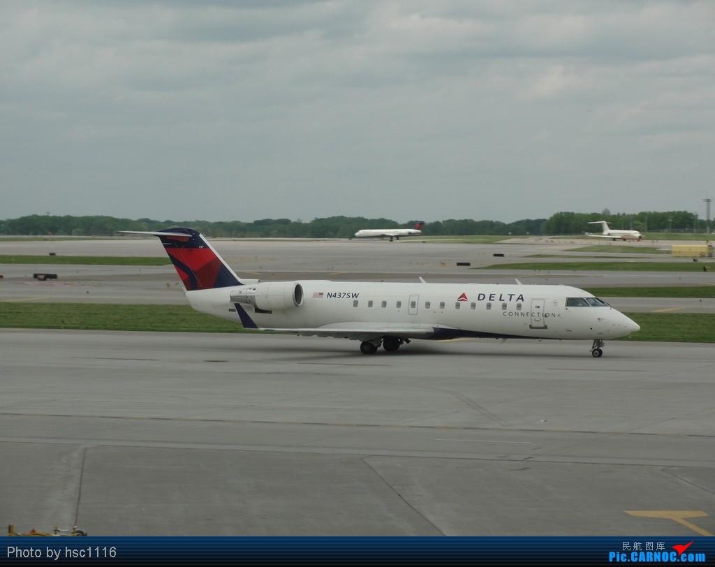 Re:[原创]5月份的回国,冷饭必须炒了。KMSP-KSEA-ZBAA-ZHHH. CRJ-200 N437SW 美国明尼阿波利斯—圣保罗机场