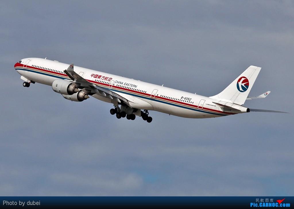 Re:[原创]好久没发图了,发两张上来看看 - 美国之旅 AIRBUS A340-600 B-6052 美国洛杉矶机场