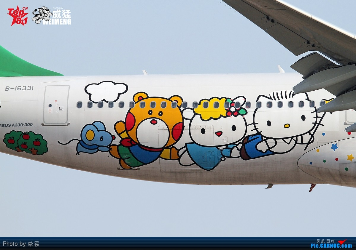 Re:[原创]暂时不做一图党~天津 HELLO KITTY彩绘机~感谢CFS01008 SKERRY等众多朋友~ AIRBUS A330-300 B-16331 中国天津滨海机场