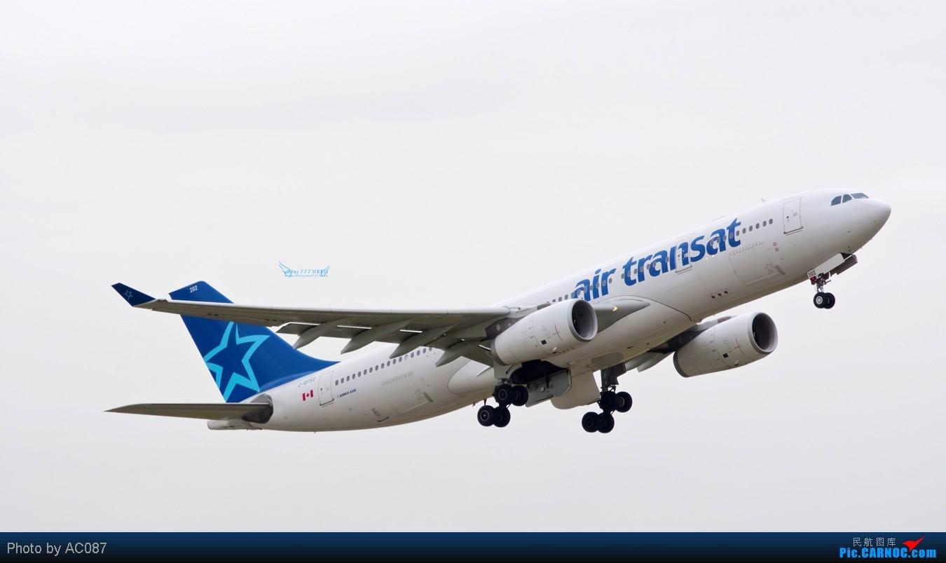 Re:[原创]【杭州飞友会】AC087温哥华即日高清拍机,国航紫宸侧风降,加航77W(爆闪),大韩航空,Transat,东航起飞雪山背景,美女内场,感谢尖兵M9指点!不看后悔 A330-300 C-QTSZ 加拿大温哥华机场