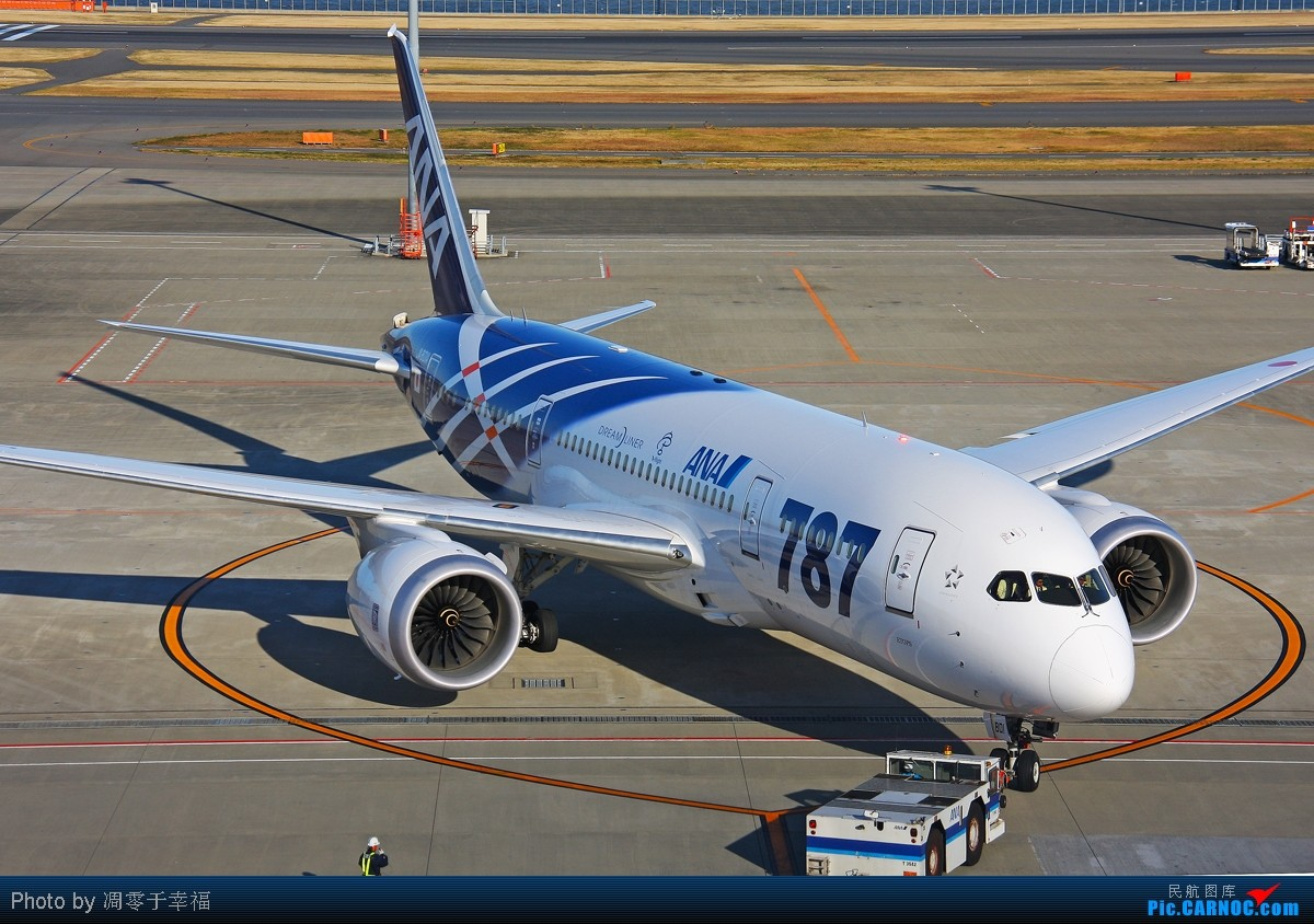 [原创]【BLDDQ】迎接2012--ANA家的787都被收入囊中.祝大家新年快乐 BOEING 787 JA801A 日本东京成田机场