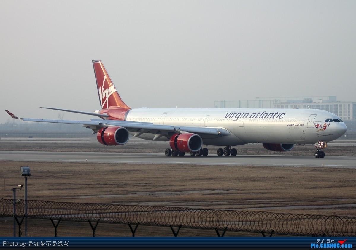 Re:[原创]【红茶拍机】新年PVG第一拍,恭祝大家新年快乐! AIRBUS A340-600 G-VWKD 中国上海浦东机场