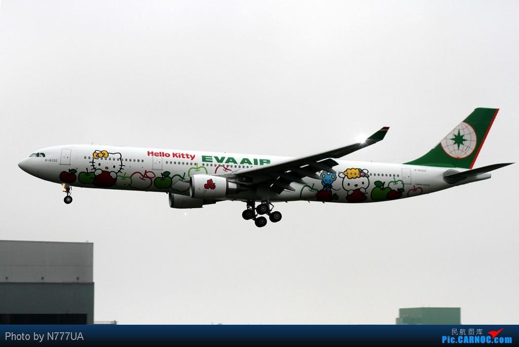 Re:[原创]Eva Air 第2代無嘴貓特輯!! AIRBUS A330-302X B-16332 RCTP