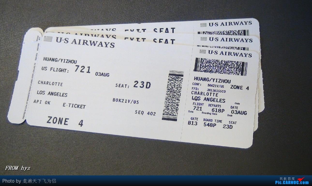 Re:]*走遍天下飞为侣*游记:us airways 匹兹堡至洛杉矶 新手发图 请多关照