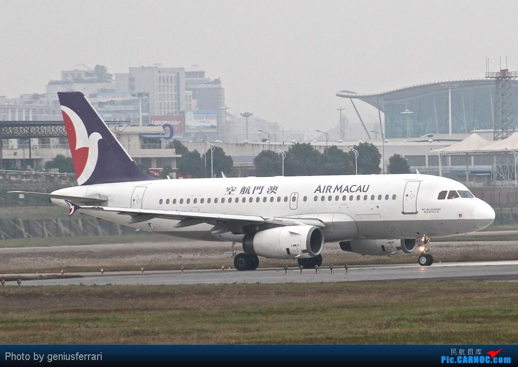 Re:[原创][CARNOC重庆飞友会]新年CKG,春运更给力 AIRBUS A319 B-MAO 重庆江北国际机场