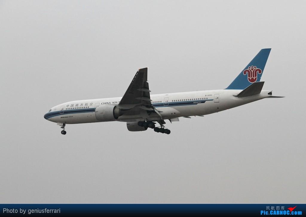 Re:[原创][CARNOC重庆飞友会]新年CKG,春运更给力 BOEING 777-200 B-2053 重庆江北国际机场