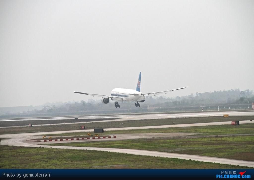 Re:[CARNOC重庆飞友会]新年CKG,春运更给力 BOEING 777-200 B-2053 重庆江北国际机场
