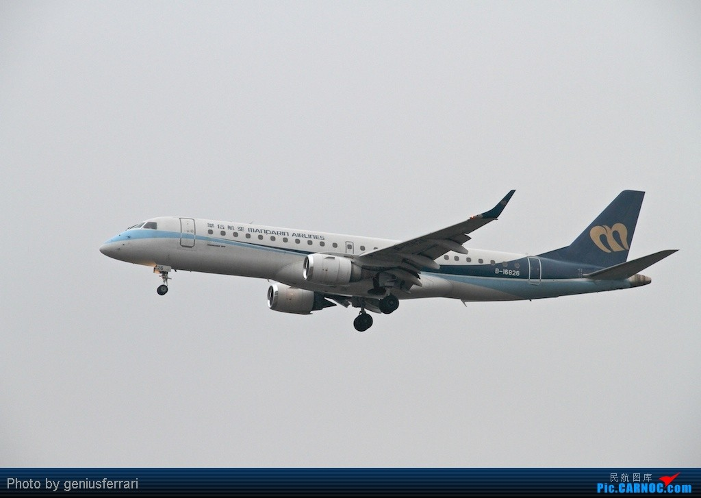 Re:[原创][CARNOC重庆飞友会]新年CKG,春运更给力 ERJ190LR B-16826 重庆江北国际机场