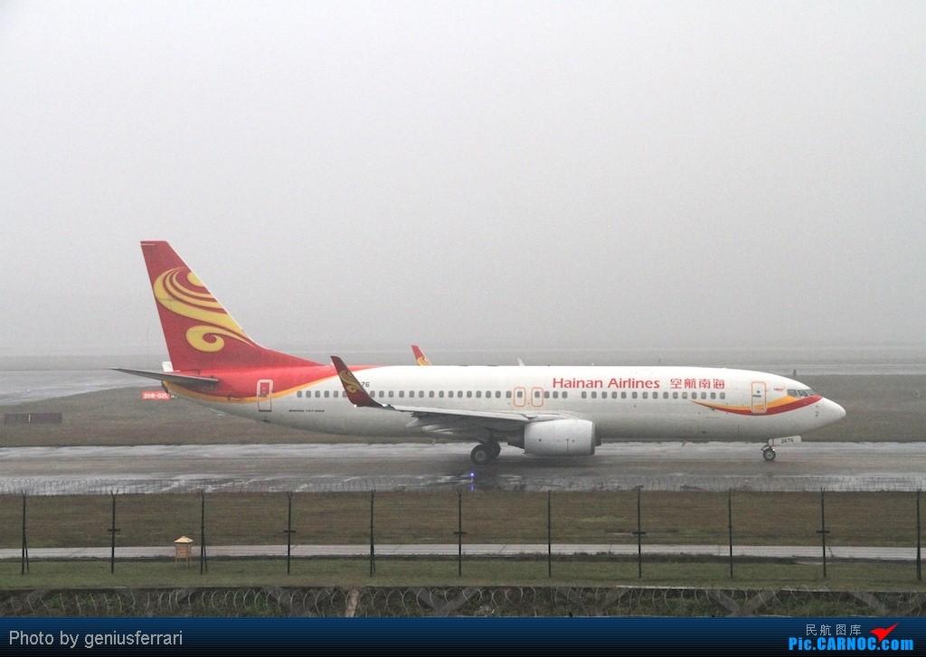 Re:[原创][CARNOC重庆飞友会]新年CKG,春运更给力 BOEING 737-800 B-2676 重庆江北国际机场