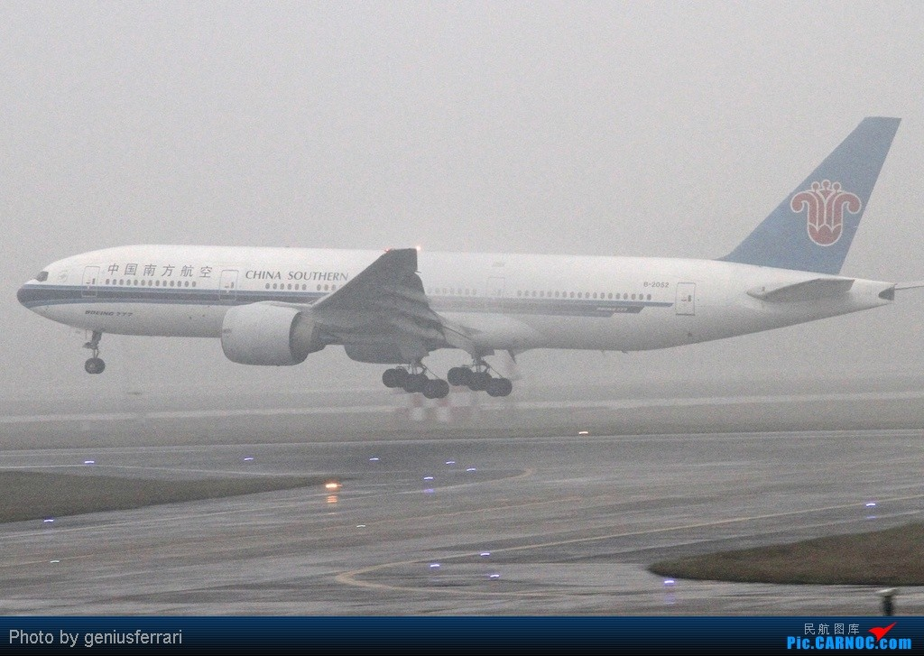 Re:[原创][CARNOC重庆飞友会]新年CKG,春运更给力 BOEING 777-200 B-2052 重庆江北国际机场