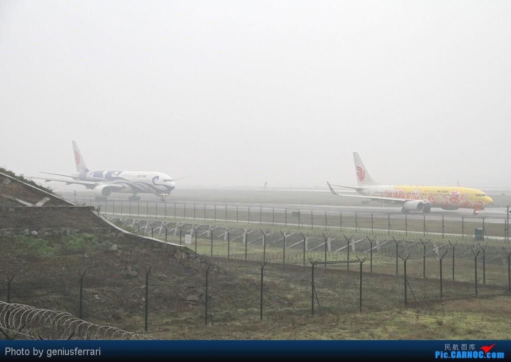 Re:[原创][CARNOC重庆飞友会]新年CKG,春运更给力 BOEING 737-800 BOEING 777-200 B-5198B-2059 重庆江北国际机场