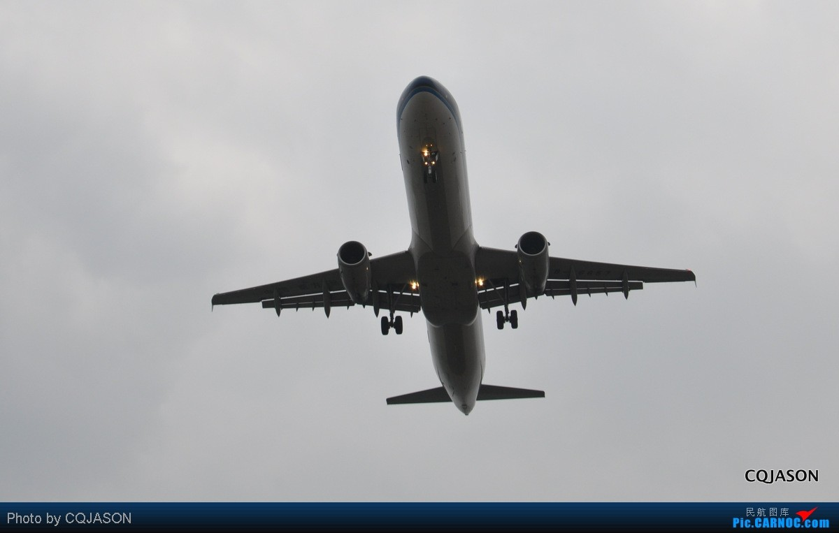 Re:[原创]【CKG重庆飞友会】-寒风中拍机第二弹-亮点在大星星。转战三个机位 AIRBUS A321-200 B-6657