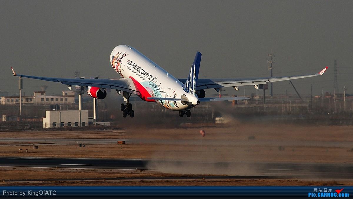 Re:[原创]过大年就发个大灰机~ AIRBUS A330-300  中国天津滨海机场