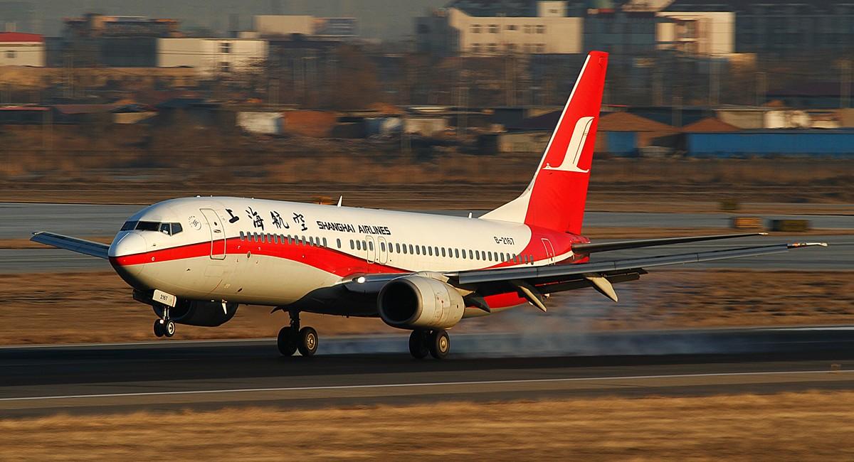 Re:[原创]过大年就发个大灰机~ BOEING 737-800 B-2167 中国天津滨海机场